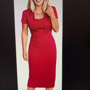 LK Bennett Lady Like Pink Dress